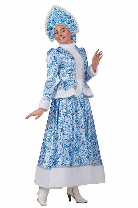 Новогодний костюм для Снегурочки